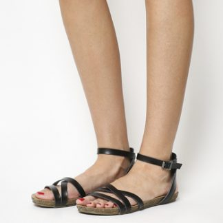Blowfish Galie Sandal BLACK DYE CUT