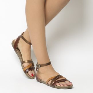 Blowfish Galie Sandal WHISKEY MULTI
