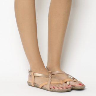 Blowfish Granola B Sandal ROSE GOLD DYE CUT