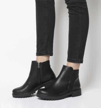 Blowfish Ralo Chelsea Boot BLACK ALAMO METALLIC