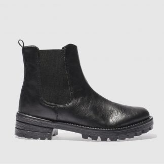 Schuh Black Eyes Open Boots
