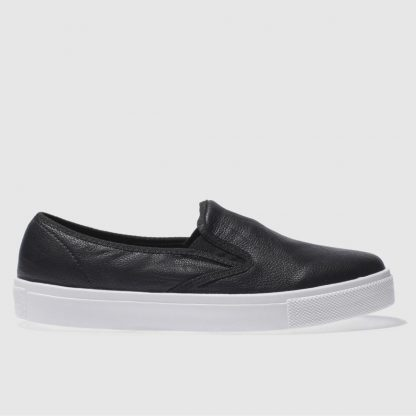 Schuh Black & White Awesome Slip On Flat Shoes