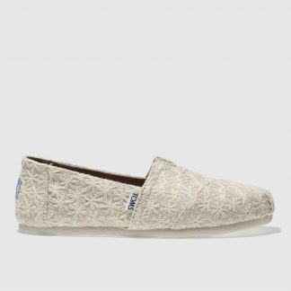 Toms Natural Alpargata Flat Shoes