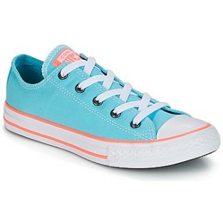Converse Chuck Taylor All Star-Ox girls's Shoes (Trainers) in Blue