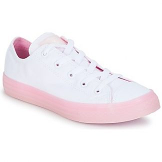 Converse Chuck Taylor All Star-Ox girls's Shoes (Trainers) in White