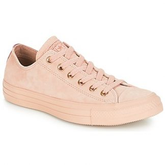 Converse Chuck Taylor All Star-Ox women's Shoes (Trainers) in Beige