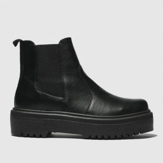 Schuh Black Stronger Boots