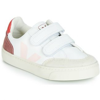 Veja V-12 girls's Shoes (Trainers) in Multicolour