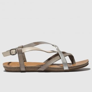 Blowfish Grey Granola B Vegan Sandals