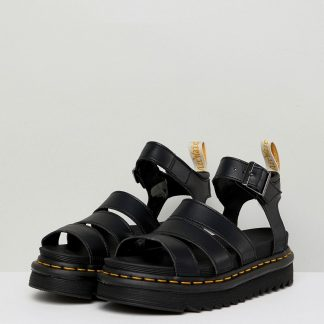 Dr Martens Vegan Blaire chunky sandals in black
