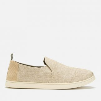 TOMS Men's Deconstructed Alpargata Pumps - Toffee Mic