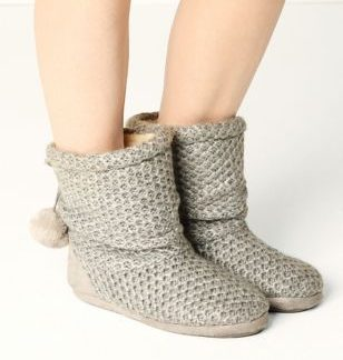 M&S Collection Snuggle Slipper Boots