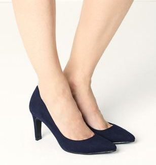 M&S Collection Stiletto Heel Pointed Toe Court Shoes