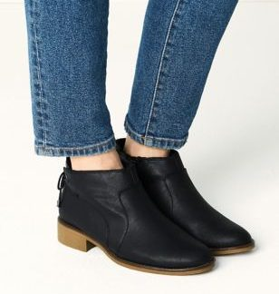 M&S Collection Tie Back Ankle Boots