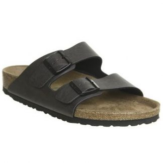 Birkenstock Arizona Two Strap PULL UP ANTHRACITE