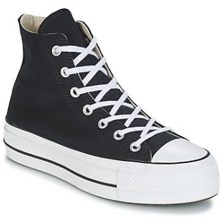 Converse CHUCK TAYLOR ALL STAR LIFT CANVAS HI women's Shoes (High-top Trainers) in Black