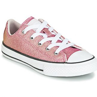 Converse CHUCK TAYLOR ALL STAR SPACE STAR OX girls's Shoes (Trainers) in Pink