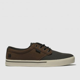 Etnies Brown Jameson 2 Eco Trainers
