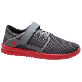Scout V Kids Grey/Red Shoe