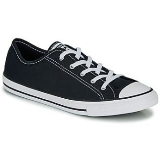 Converse CHUCK TAYLOR ALL STAR DAINTY GS CANVAS OX women's Shoes (Trainers) in Black