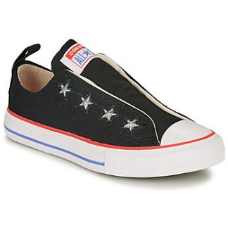 Converse CHUCK TAYLOR ALL STAR TEEN SLIP CANVAS COLOR - SLIP girls's Shoes (Trainers) in multicolour
