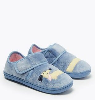Kids' Dog Riptape Slippers (5 Small - 12 Small)