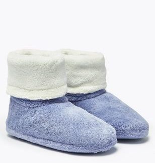 Kids' Fleece Slippers (5 Small - 7 Large)