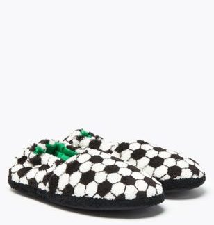 Kids' Football Slippers (5 Small - 7 Large)