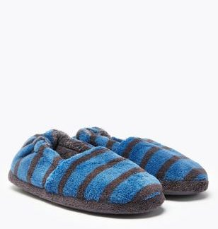 Kids' Striped Slippers (5 Small - 12 Small)