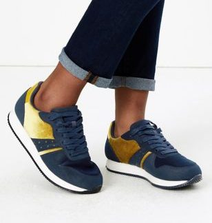 Light As Air Lace Up Trainers