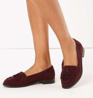 M&S Collection Tassel Slip On Loafers