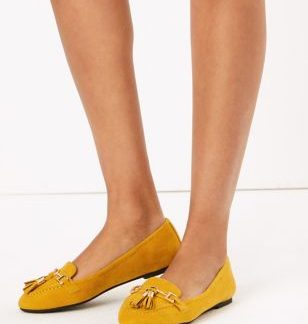 M&S Collection Tassel Trim Loafers