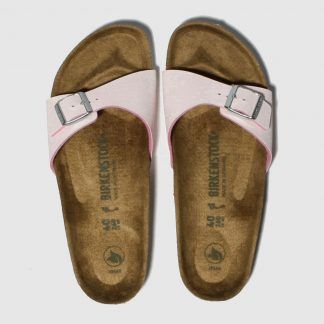 Birkenstock Pink Madrid Vegan Sandals