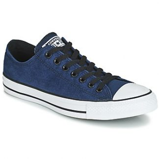 Converse CHUCK TAYLOR ALL STAR CORDUROY TEXTILE OX men's Shoes (Trainers) in Blue