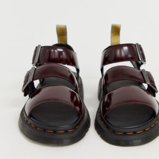 Dr Martens Gryphon vegan sandals in red