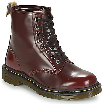 Dr Martens VEGAN 1460 women's Mid Boots in Red
