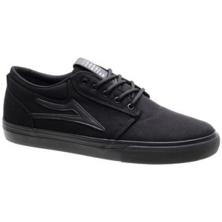 Griffin Black/Black Canvas Shoe
