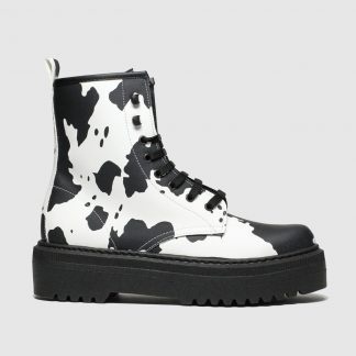 Schuh Black & White Big Deal Boots