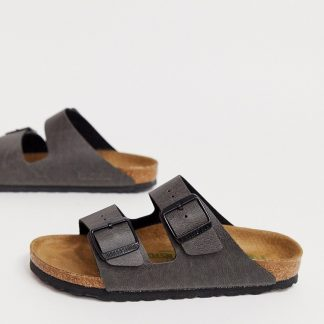 Birkenstock Vegan Arizona in Anthracite-Grey