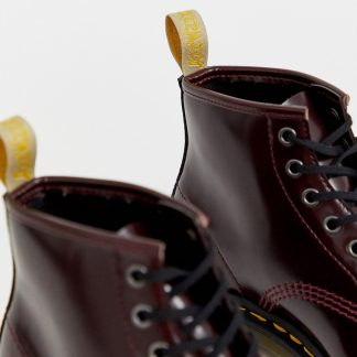 Dr Martens Vegan 101 ankle boots in cherry-Red