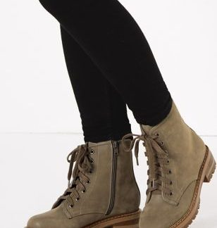 M&S Collection Lace Up Short Ankle Boots