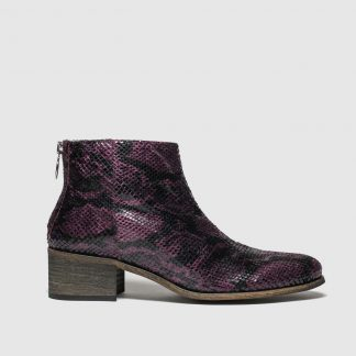 Red Or Dead Burgundy Dusty Boots