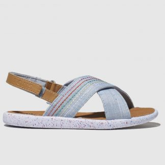 Toms Pale Blue Viv Sandals Toddler