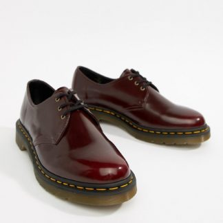 Dr Martens vegan 1461 3-eye shoes in red