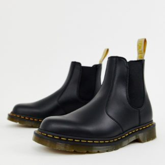 Dr Martens vegan 2976 chelsea boots in black smooth