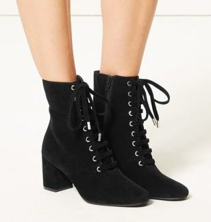 M&S Collection Lace-up Ankle Boots