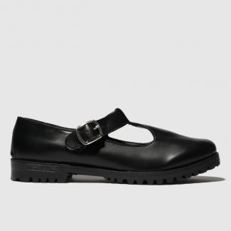 Schuh Black Making Meadows Wide Fit Flat Shoes